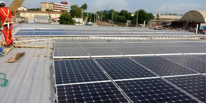 Solar Powered Fuel Station